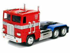 Optimus Prime Transformers G1 Jada Toys Die Cast Metals Model Ships Feb 1