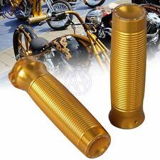 1Inch 25mm Golden Aluminum Custom Rough Crafts Handlebar Grips For Harley