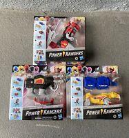 Brand New Hasbro Mighty Morphin Power Rangers Complete Dino Megazord (5 Zords)