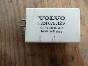 Volvo 240 260 740 760 1324675 Cabin Heater Timer Relay
