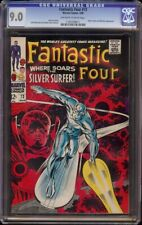 Fantastic Four # 72 CGC 9.0 OW/W (Marvel, 1968) Classic Silver Surfer cover