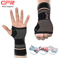 Arthritis Gloves Copper Hand Compression Sport Support Pain Relief Brace Wrist