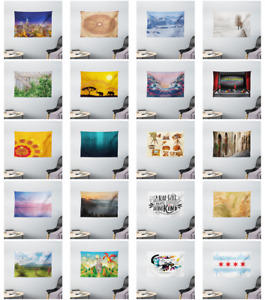 Ambesonne Wall Decor Fabric Printed Wide Tapestry for Dorm Living Room