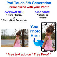 Custom Picture Phone Case Cover Photo or Graphic For iPod 5th Gen