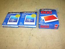 POLAROID 779 Plus/600 Instant Film  4 packs  =40 Films, Expiration 01/05 & 12/03