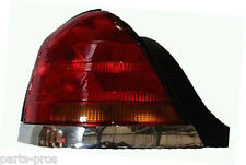 New Replacement Chrome-Trim Taillight LH / FOR 1998-03 FORD CROWN VICTORIA