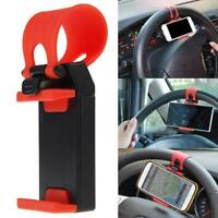 CAR DECORATIVE ACCESSORIES Auto Car Steering Wheel Bike Handlebar Clips Holder