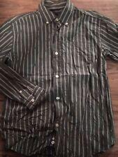 Gap Kids Boys Long Sleeve Button Up Shirt Size Xl 12 Green