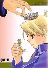 "Fullmetal Alchemist Doujinshi "" Queen "" Roy Mustang Riza Hawkeye"