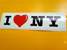 I LOVE NEW YORK Van Auto Paraurti Adesivo Decalcomania 1 OFF 200mm