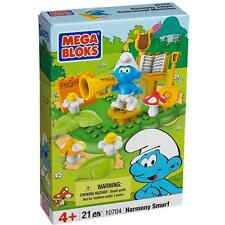 The Smurfs Mega Bloks Harmony Smurf 10704 Building Blocks