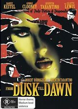 FROM DUSK TO DAWN DVD=HARVEY KEITEL= REGION 4 AUSTRALIAN=BRAND NEW AND SEALED