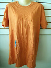 Canvas New Orange Megan Burtt Large T Shirt