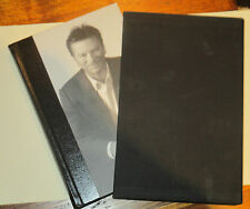 """Steve Waugh signed Book - """"Meaning of Luck"""" Limited Edition Hard case"""