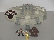 Hasbro 2001 Star Wars Galactic Heroes Millennium Falcon w/Lights & Sounds