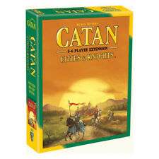 Catan Cities & Knights 5 - 6 Player Extension Board Game NEW