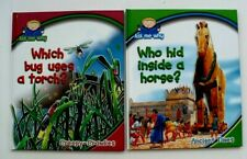 Lot-2-ASK ME WHY CHILDREN Books: Which bug uses a Torch? Who Hid Inside a