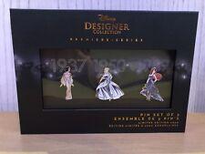 Shop Disney Designer Premiere Collection Ariel Cinderella Snow White Pin Set One
