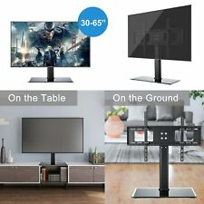 TV Stand Base VESA Mount Bracket For 32-65 TV Entertainment Tabletop Desk Holder