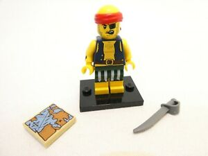 LEGO SCALLYWAG PIRATE MINIFIGURE #9 COLLECTIBLE SERIES 16 + EXTRAS COL16-9 NEW