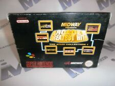 Gioco per Super Nintendo Snes THE ARCADE'S GREATEST HITS THE ATARI COLLECTION 1