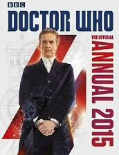 The Official Doctor Who Annual 2015 BBC Books Hardcover New Unread -  US Seller