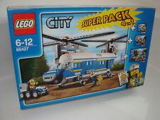 LEGO ® City 66427 police Superpack Nouveau neuf dans sa boîte _ POLICE NEW En parfait état, dans sa boîte scellée Boîte d'origine jamais ouverte