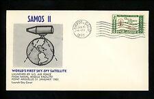 al History Espacio Satellite Launch Samos II SKY - SPY Navy 1961 lompoc CA