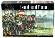 Pike & Shotte 202016001 Landsknecht Pikemen (Italian Wars) Infantry Arquebusiers