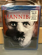 Hannibal (Blu-ray Disc) New Oop *Rare Cover* silence of the lambs Horror