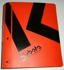 Kubota L48 Tractor, Loader & Backhoe Service Repair Workshop Shop Manual OEM!