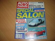 Auto hebdo N°644 BMW 325 iS.Gp du Portugal.Salon