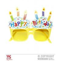 Happy Birthday Sunglasses Glasses Fun Fancy Dress