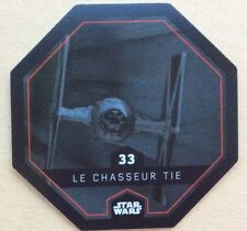 STAR WARS Jeton 33 LE CHASSEUR TIE Cosmic Shells E.Leclerc Collector Image