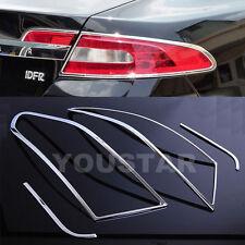FAST EMS x2 Chrome Rear Tail light Surrounds Trims for Jaguar XF X250 08-11