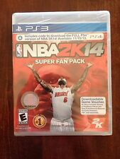 NBA 2K14 Super Fan Pack (Sony PlayStation 3, 2013)