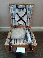 Greenfield Collection Chilworth WillowPicnic Basket / Hamper
