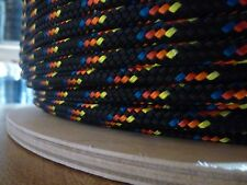 "3/16"" x 100 ft. Double Braid Yacht Braid Polyester.Sailboat Line/ Marine Rope"