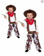 Toddler Cowboy Fancy Dress Costume Book Week Boys Outfit