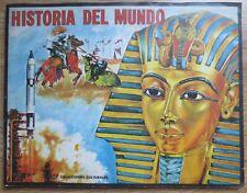 Álbum completo de cromos Historia del mundo año 1968.