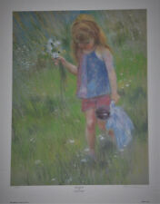"""""""Bouquet"""" by Frances Hook Limited Edition Hand Signed Art Print 1982 Roman Inc"""