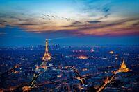 ART PRINT POSTER PHOTO CITYSCAPE EIFFEL TOWER PARIS FRANCE LFMP0470