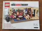 Lego Ideas Big Bang Theory 21302. Complete set with box and instructions.