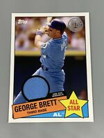 George Brett 2020 Topps Series 2 1985 All-Star Relic Game Used 85ASR-GB Royals