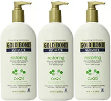 Gold Bond Ultimate Restoring Lotion 13-Ounce Bottle (3Pack)