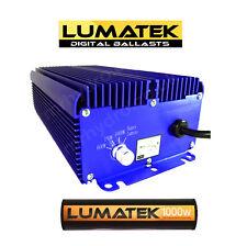 1000w lumatek digital ballast et ampoule 1000w hps