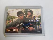 Smallvile trading card from  episode Red autographed by Tom Welling