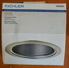 Kichler 6in Recessed Trim Kit Brushed Nickel Finish ~ NEW in Box