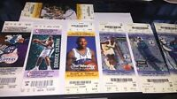 Lot Of Charlotte Hornets Ticket Stubs 1997 2000