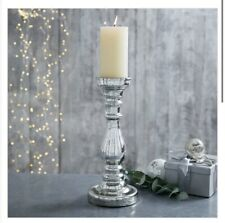 THE WHITE COMPANY PILLAR CANDLE HOLDERS X2